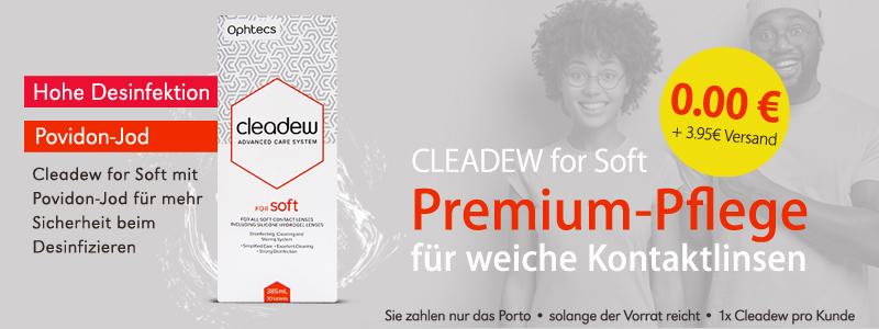 Angebot cleadew for soft günstig, Ophtec