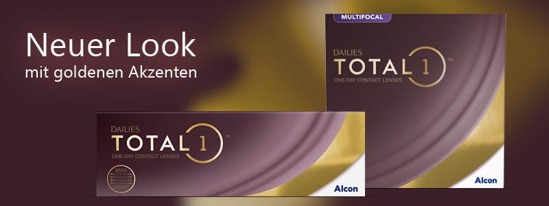 Dailies Total 1 - Neuer Look, Alcon