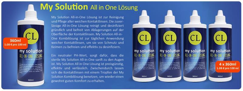 My Solution All in One Kombilösung günstig online kaufen