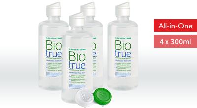 Biotreu All-in-One Lösung 4x300ml, Bausch+Lomb
