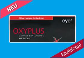 eye² Oxyplus 1 Day multifocal, eye2 Oxyplus Tageslinse multifocal, Silikon-Hydrogel, eye 2