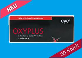 eye² Oxyplus 1 Day sphärisch, eye2 Oxyplus Tageslinse spheric, Silikon-Hydrogel, eye 2