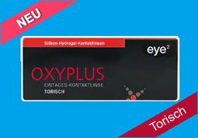 eye² Oxyplus 1 Day torisch, eye2 Oxyplus Tageslinse toric, Silikon-Hydrogel, eye 2