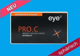 eye² PRO C, Monatslinse, Hydrogel, eye 2