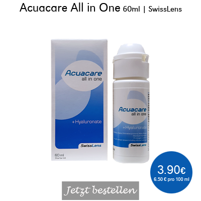 Acuacare All in One 60ml Starter, SwissLens