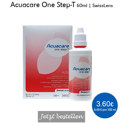Acuacare One Step-T 60ml Starter, SwissLens