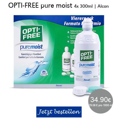 Opti-Free pure moist 4x300ml, Alcon