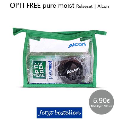 Opti-Free pure moist Reiseset, Alcon