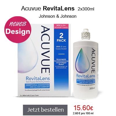 Acuvue RevitaLens 2x300ml, Johnson&Johnson