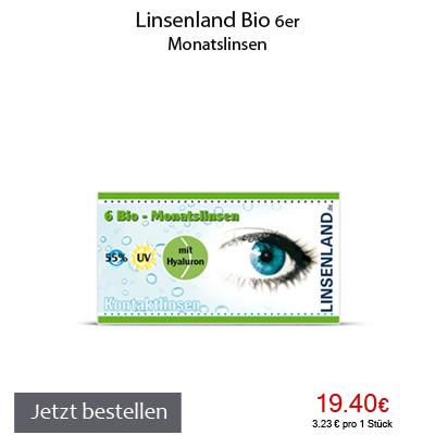 Linsenland Bio Monatslinsen 6er