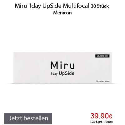 Miru 1day UpSide Multifocal 30er, Menicon