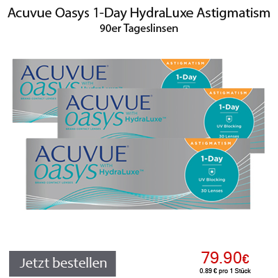 Acuvue Oasys 1Day HydraLuxe 90er Astigmatism