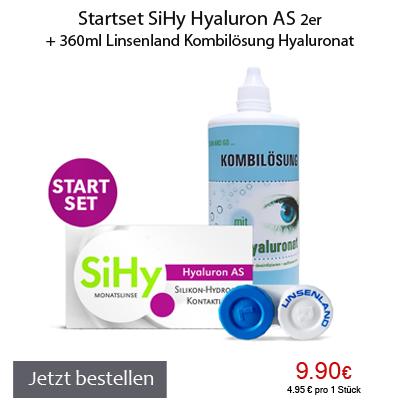 SiHy Startset Hyaluron AS plus Kombilösung