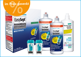EasySept Multipack, Reinigungssystem, desinfektion, empfindliche Augen, Bausch & Lomb