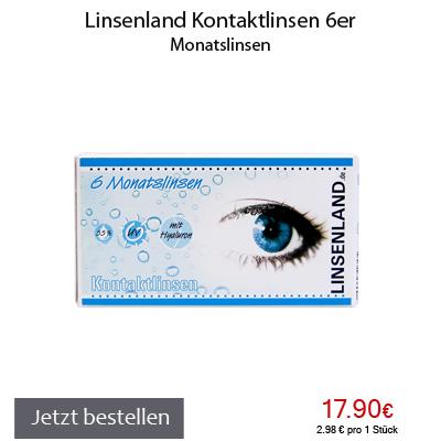 Linsenland Kontaktlinsen 6er