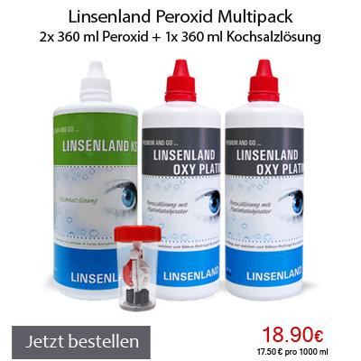 Linsenland Peroxid Multipack
