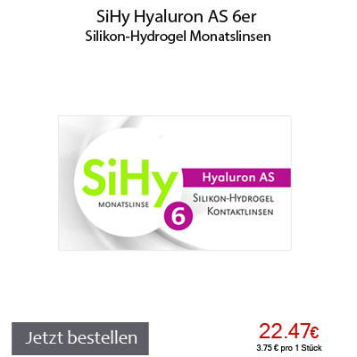 SiHy Hyaluron AS 6er