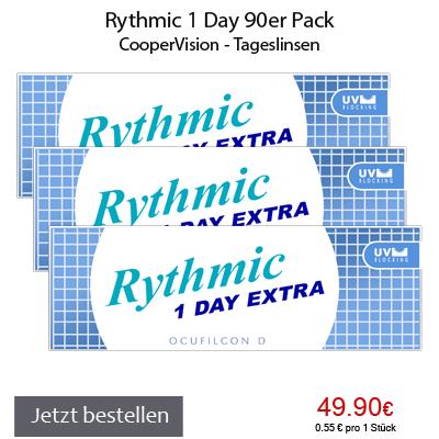 Rythmic 1 Day 90er, CooperVision Tageslinsen