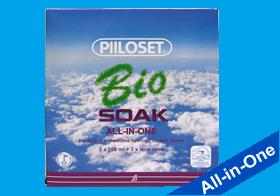 Bio Soak, Bio Soak All in One, Piiloset, Pflege weiche Kontaktlinsen, Silikon Hydrogel