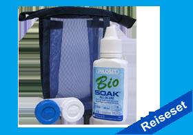 Bio Soak Reiseset, Piiloset, All in One Pflege unterwegs