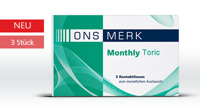 Ons Merk Monthly Toric, Bach Optic