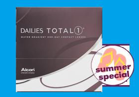 Dailies Total1, 90er Kontaktlinsen, Alcon, Sommerangebot