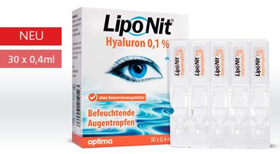 Lipo Nit Augentropfen Hyaluron Mono