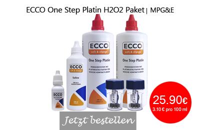 ECCO soft&change One Step Platin H2O2 Paket, Peroxidsystem, MPG&E