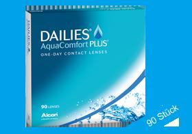 Dailies Aqua Comfort Plus, Tageslinsen, 90 Stueck, Alcon
