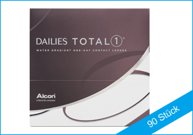 Dailies Total 1, Tageslinsen, Silikon Hydrogel, Alcon