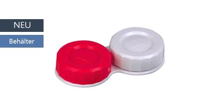 Flat Case rot weiss, Zubehör, Behälter flach, Eye Care