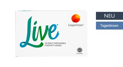 Live Tageslinsen 30er Daily, Cooper Vision