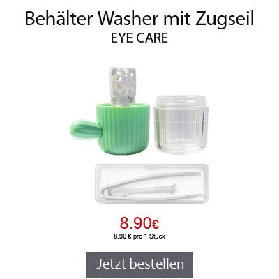 Kontaktlinsenbehälter Washer mit Zugseil, Eye Care