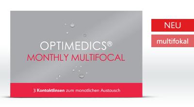 Optimedics Monthly Multifocal 3er