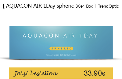 Aquacon Air 1Day 30er, Tageslinsen, TrendOptic