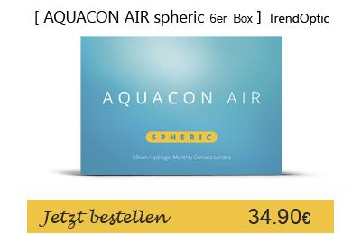 Aquacon Air spheric 6er, Monatslinsen, TrendOptic