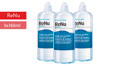 ReNu Multiplus Solution 3x360ml, Bausch und Lomb