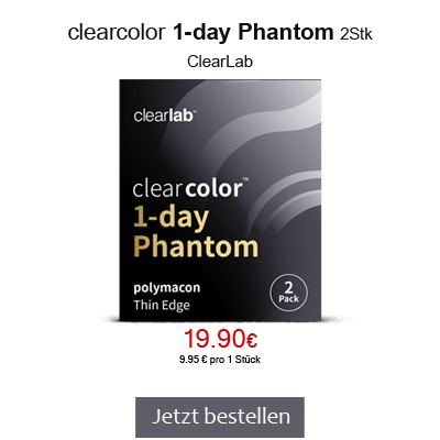 clearcolor 1-day Phantom Farblinsen, ClearLab