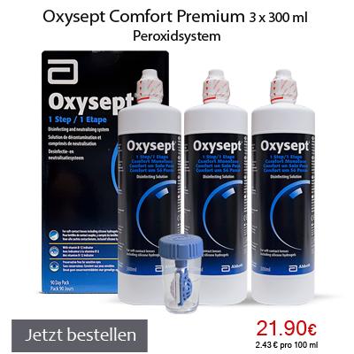 Oxysept Comfort Premium 3x300ml AMO