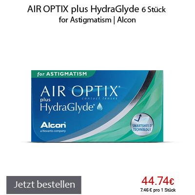 Air Optix plus HydraGlyde for Astigmatism, Alcon