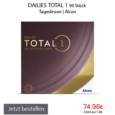 Dailies Total 1 Multifocal 90er, Alcon, Tageslinsen