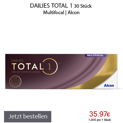 Dailies Total 1 Multifocal, Tageslinsen, Alcon