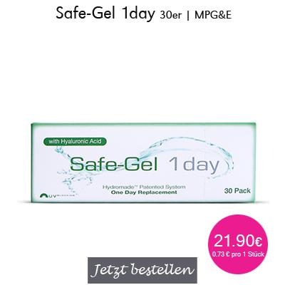 Safe-Gel 1day 30er Tageslinsen, MPG&E