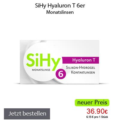 SiHy Hyaluron T 6er
