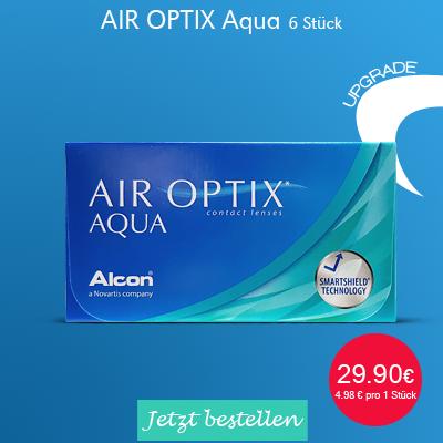 Air Optix Aqua 6er Monatslinsen, Alcon