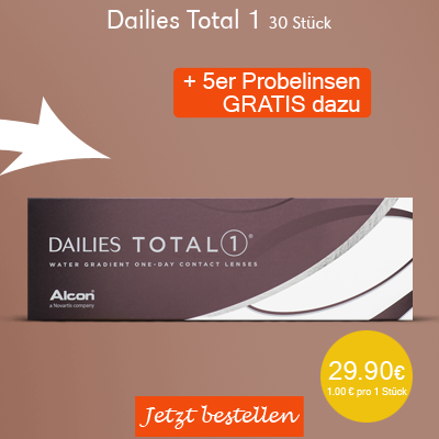 Dailies Total 1 30er Tageslinsen, Alcon