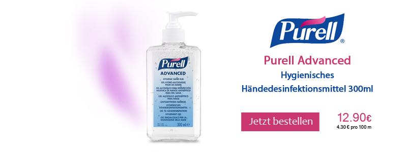 Purell Handdesinfektion